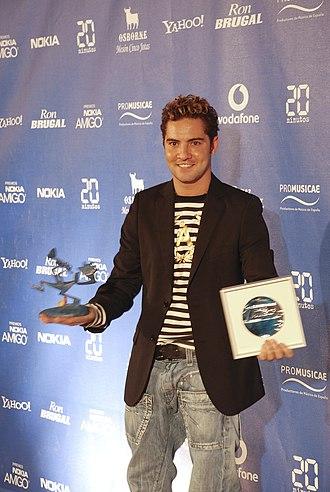 David Bisbal - David Bisbal, at Los Premios Nokia Amigo, 2007