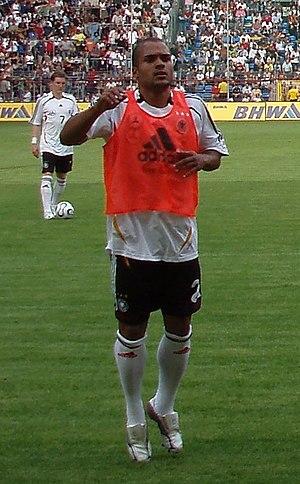 David Odonkor - Odonkor warming up with Germany in 2006