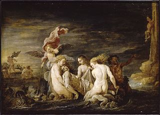 Leander Found by the Nereids