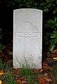 Davidson (Dugald Sidney) CWGC gravestone, Flaybrick Memorial Gardens.jpg