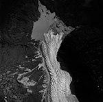 Davidson Glacier, terminus of valley glacier, September 12, 1986 (GLACIERS 5221).jpg