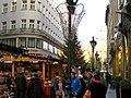 Deák Ferenc utca, Budapest Christmas Market 2012 (8227168833).jpg