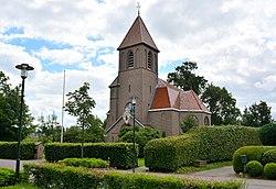 De Pein, grifformearde tsjerke (hersteld).jpg