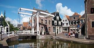 De Rijp Village in North Holland, Netherlands