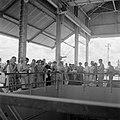 De koningin bezoekt de fabriek van de Surinaamse Bauxiet Maatschappij in Moengo, Bestanddeelnr 252-4439.jpg