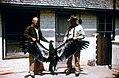 Dead California condor that ran into high tension lines, Orange Grove, CA, 1966 (26251724364).jpg