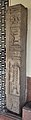 Decorated Door Pillar - Mediaeval Period - ACCN 00-R-6 - Government Museum - Mathura 2013-02-22 4749.JPG