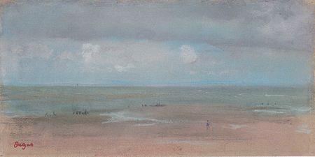 Degas - Meerlandschaft mit Sandstrand bei Ebbe.jpeg