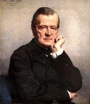 Henri Delaborde (painter) - Henri Delaborde (1886); portrait by Léon Bonnat.