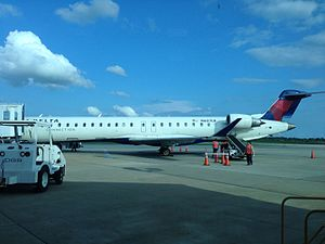 Montgomery Regional Airport - Delta Connection CRJ-900
