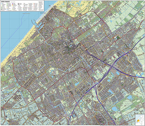 Den Haag-topografie
