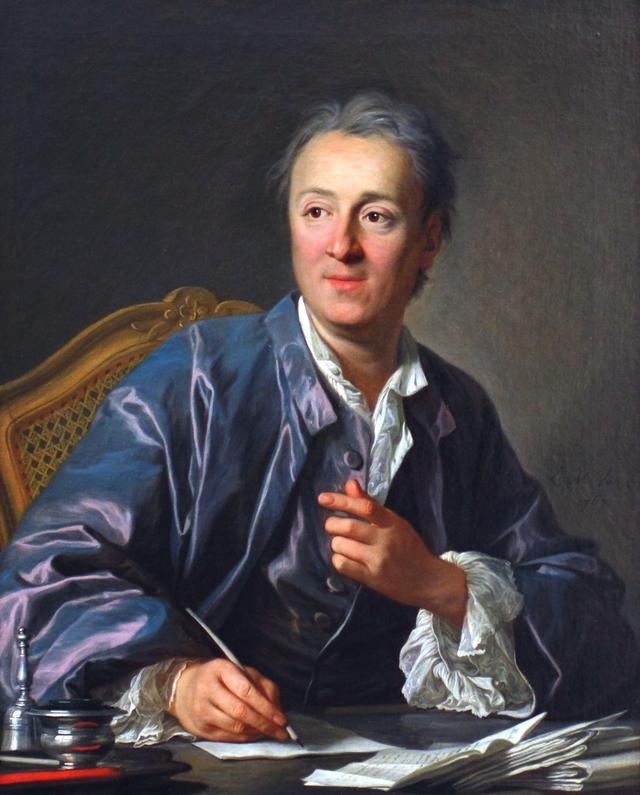 portrait Diderot par Van Loo