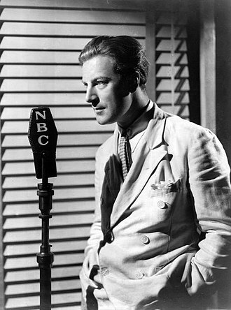 WABC (AM) - Actor and vocalist Dennis King had a weekly network radio program on WJZ in 1934.
