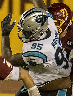 Derrick Brown (American football) American football defensive tackle