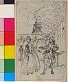 """Design for a Scene in de Laujon's """"L'Amoureux de quinze ans, ou la Double-Fête..."""" MET 44.54.27.jpg"""