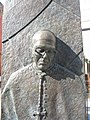 Detail from the statue of Derek Worlock, the former Catholic Archbishop of Liverpool - geograph.org.uk - 974994.jpg