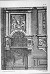 detail interieur, reproductie van tekening in bezit van huisarchief - apeldoorn - 20023621 - rce