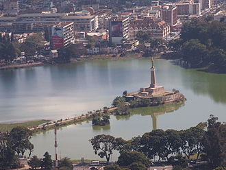 Antananarivo - Lake Anosy was created in the 19th century to provide hydraulic power to industrial factories.