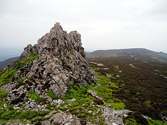 Stiperstones - Image: Devil's Chair