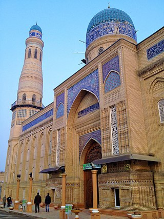 Devonaboy Jome Mosque in Andijan.jpg