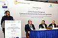 Dharmendra Pradhan addressing at the inauguration of the Expert Workshop on 'Carbon Emission Management Upstream & Downstream Best Practices and Opportunities', organised by the Petroleum Federation of India, in New Delhi.jpg