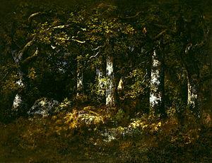 Narcisse Virgilio Díaz - Forest of Fontainebleau, 1868, Dallas Museum of Art