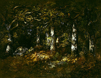 Narcisse Virgilio Díaz - Forest of Fontainebleau, 1868, Dallas Museum of Art