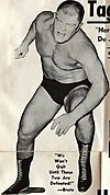 Dick the Bruiser - 2 November 1968 - Chicago Wrestling Club Newsletter Recto (cropped).jpg