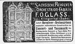 Die Woche 1904-09-10 S. XII Klingenthal Sächsische Revolver-Orchestrion-Fabrik