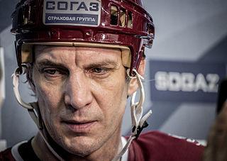 Sandis Ozoliņš Latvian ice hockey player