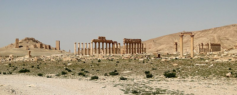 File:Diocletian's Camp, Palmyra 01.jpg