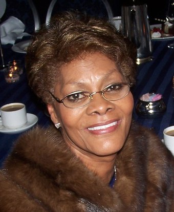 Seven-time nominee, including three-time award winner Dionne Warwick Dionne Warwick 20030603.jpg
