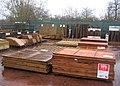 Discounted garden fence - geograph.org.uk - 1087549.jpg
