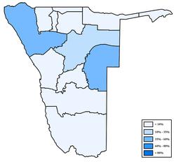 Distribution of Otjiherero in Namibia.png