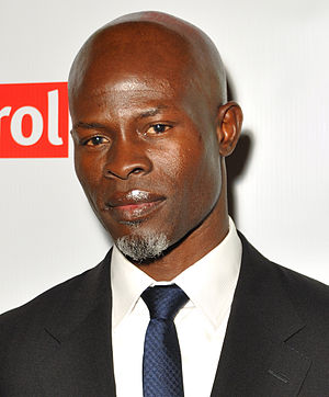 Djimon Hounsou - Hounsou at Final DipCon Opening Reception