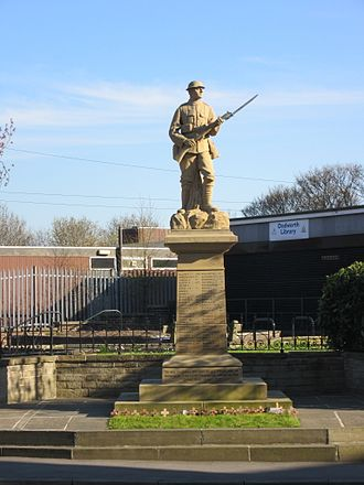 Dodworth - Image: Dodworth War Memorial