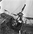 Doedelzak wordt na gebruik in de zon te drogen gezet tijdens de Highland Games, , Bestanddeelnr 254-2843.jpg