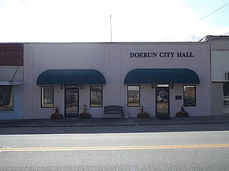 Doerun, Georgia - Doerun City Hall