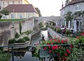 Dole, département du Jura, France. Canal in the old town. - panoramio.jpg
