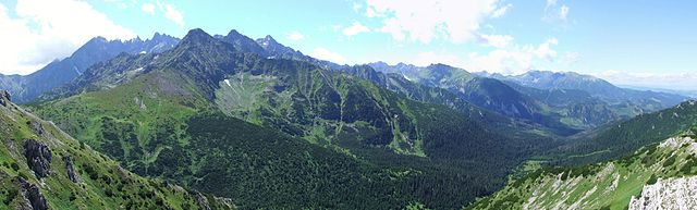 Vysokohorské prostredie - Vysoké Tatry