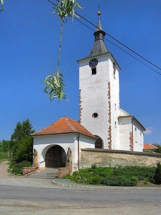 Dolní Loučky - Image: Dolní Loučky, St. Martin's Church