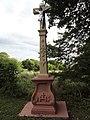 Dolving (Moselle) Couvent de Saint-Ulrich, croix de chemin.jpg