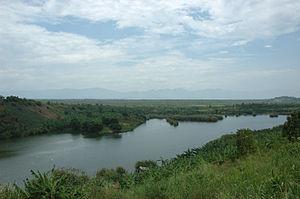 Rutshuru River - Image: Domaine de Katale