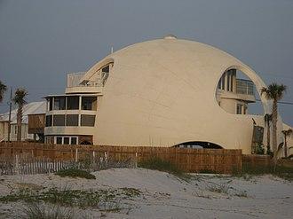 Pensacola Beach, Florida - Dome of a Home, Pensacola Beach, Florida