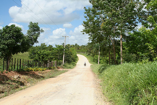 Dominicana road Niedźwiadek78 at pl.wikipedia [GFDL (http://www.gnu.org/copyleft/fdl.html) or CC-BY-SA-3.0-2.5-2.0-1.0 (https://creativecommons.org/licenses/by-sa/3.0)], from Wikimedia Commons