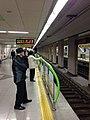 Dongbaek Station, Busan Subway Line 2.jpg