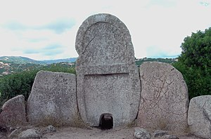 Giants' grave of S'Ena'e Thomes - S'Ena'e Thomes
