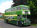 Double-decker at Four Marks - geograph.org.uk - 2421442.jpg