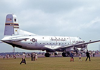436th Airlift Wing - 436 MAW Douglas C-124C Globemaster II at RAF Wethersfield England in 1967