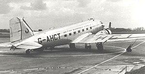 1947 BOAC Douglas C-47 crash - A Douglas DC-3 of British European Airways, similar to the accident aircraft.